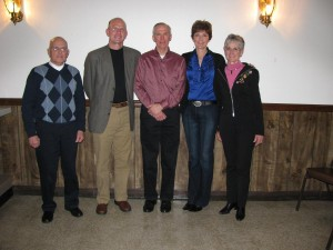 Walt Mike Brad Marge Mary Lou Award Winners